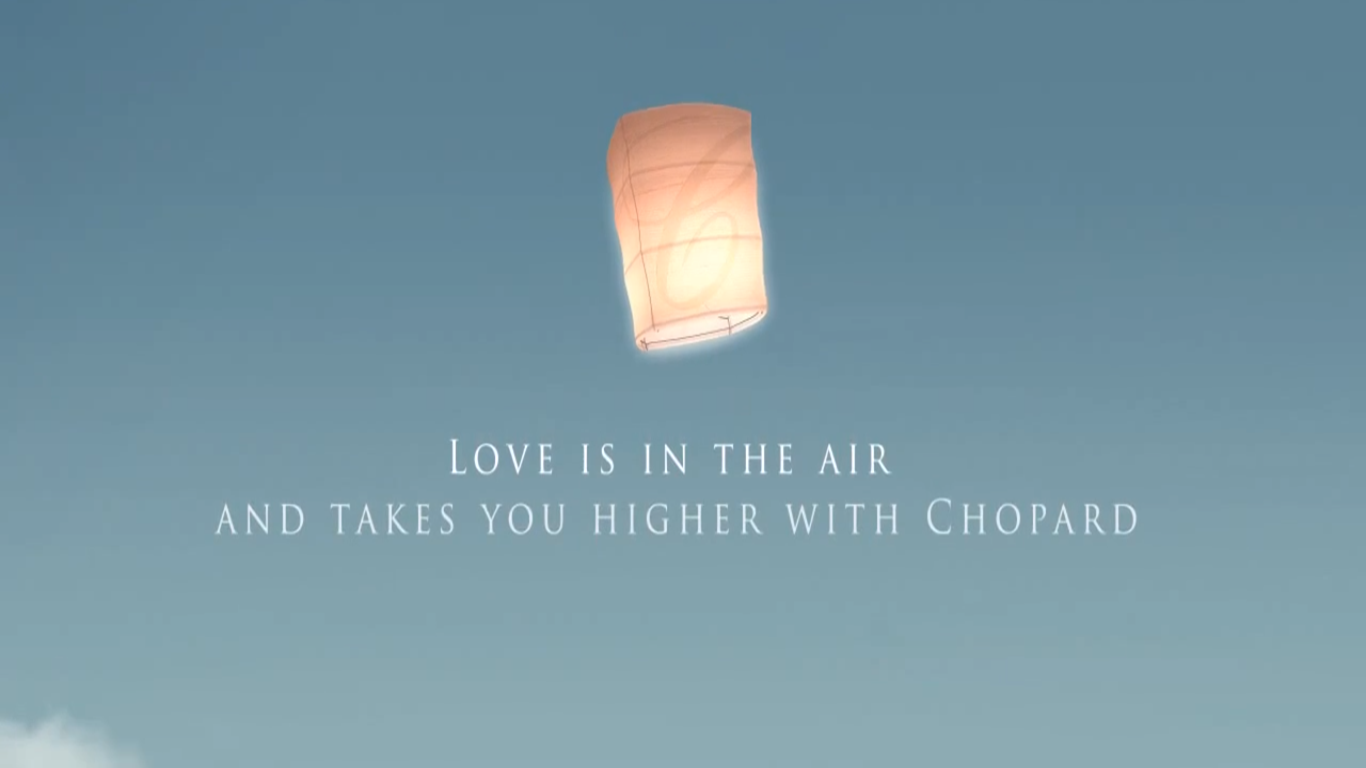 chopard- love in the air