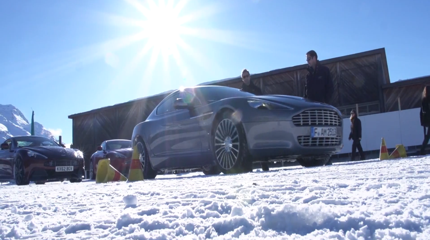 aston martin on ice 2013