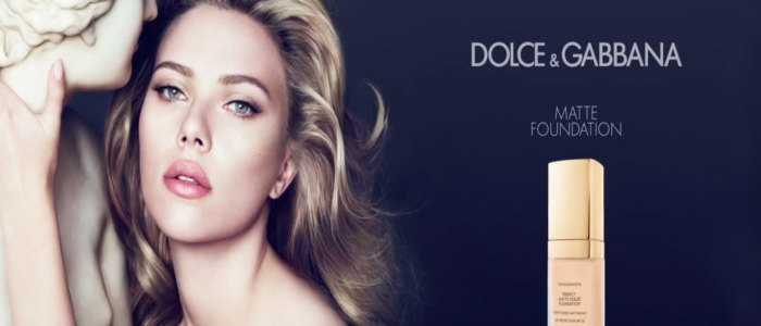 docle & gabanna Scarlett Johansson