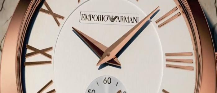 Emporio Armani SpringSummer 2013 - Watch Collection